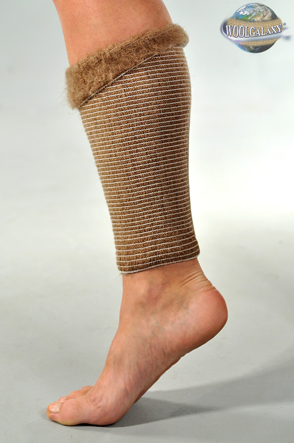A bandage around the shin containing camel's wool